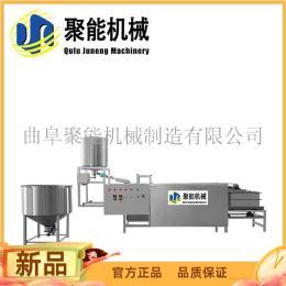 手工豆腐皮压榨成型机 全自动豆腐皮机器调试现场 豆腐皮机器调试现场