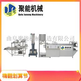 江苏不锈钢两米七长的豆腐皮机 厂家热销大产量豆皮机