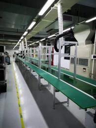 皮带输送线 电子包装等工业用输送设备 流水线 输送带