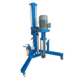 可移动式高剪切乳化机,小型高剪切乳化机,气动升降乳化机