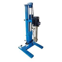 手摇升降高剪切乳化机,小型高剪切乳化机,可移动式乳化机,工业打样乳化机