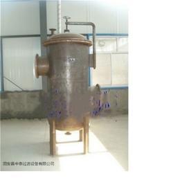 保护压缩机专用煤气过滤器