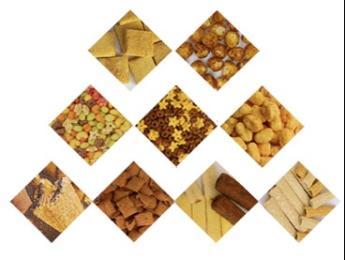 大型膨化食品机械设备用途