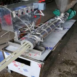 电热自熟干凉皮机 条形筒状干面皮机