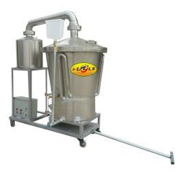 生料液态复合酒曲蒸酒机 纯粮酿酒设备