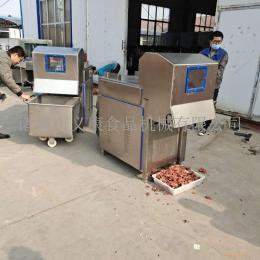 義康供應凍羊肉切塊機 凍豬肝切塊機 全自動凍豬肉分割設備