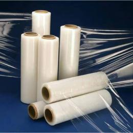 pe拉伸缠绕膜50cm透明pe薄膜塑料拉伸打包包装膜