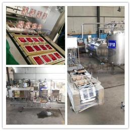 猪血毛血旺加工机器,鸭血加工工艺,鸭血生产设备厂家直销