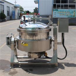 中润可倾式粽子蒸煮锅 蜜枣粽子蒸煮锅 粽子蒸煮设备