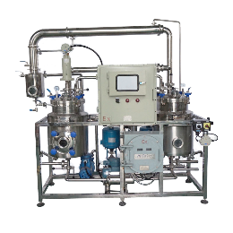 中藥提取濃縮設備多功能小型提取濃縮機組植物濃縮提取罐