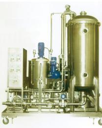 新轻机械  防爆水平圆盘硅藻土过滤机 加工定制  安装调试