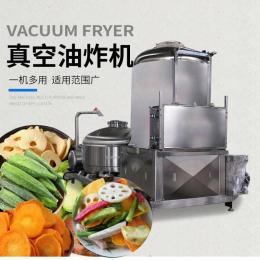 胡萝卜真空油炸设备 休闲食品低温油炸机 全自动油炸机 大型低温真空油炸机
