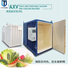 鲜切花500公斤小白菜真空预冷机 快速降温冷却机 保鲜真空冷却机