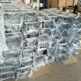 瑞奥厂家直销 桥式钢铝拖链 定制金属拖链 机床附件 承重钢制拖链