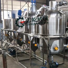 核桃油生产线 山茶油精炼机 浓香菜子油加工机器