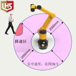 立宏智能安全-360°协作机器人预警系统遨博机器人门窗喷粉拖动示教,遨博协作机器人,AUBO机器人