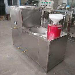 100型不锈钢豆腐机电机热全套豆腐生产设备