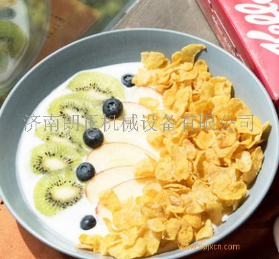 可干吃即食烘焙泡酸奶的玉米片生產線價格D