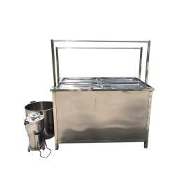 薄豆皮生产机酒店手工养生腐竹机 方形油皮机
