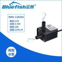 DC12V水培水暖床垫食品超静音水冷增压直流无刷水泵