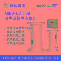 潍坊奥博LCT-DW双声道超声流量计厂家直销