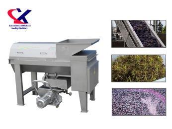 LX供应葡萄除梗破碎机