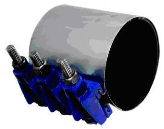 ZR-1不锈钢全环绕修补抱箍板式修补器
