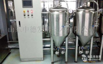 200升啤酒设备 山东中德