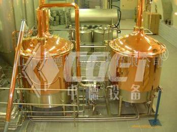 300升自酿啤酒设备  山东中德