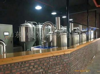 500L自釀啤酒設備  山東中德