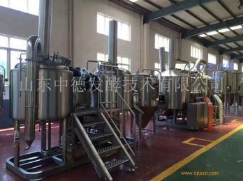 500升自酿啤酒设备  山东中德