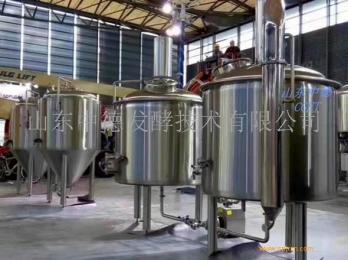 500升小型啤酒设备  山东中德