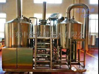 500升精酿啤酒设备  山东中德