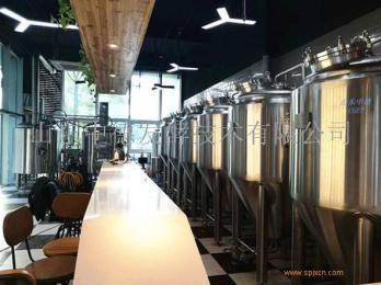 500升啤酒设备  山东中德