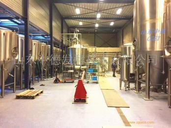 小啤酒厂设备  山东中德