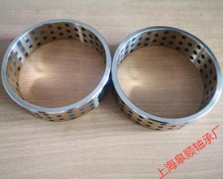 上海皋顺 石墨铜套 自润滑高力黄铜套厂家订做耐磨轴套直销