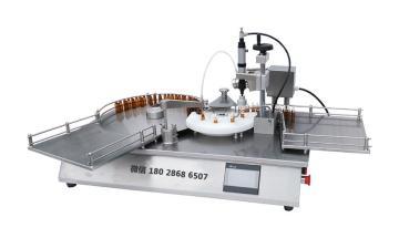台式西林瓶微量液体灌装旋盖一体机 1-10毫升