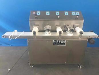 三若精机SRNS-25牛舌头饼成型机