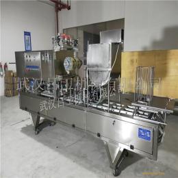河南原阳凉粉灌装机 盒装绿豆凉粉灌装封口机 凉粉包装机