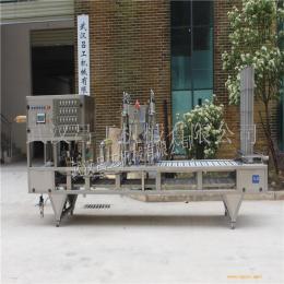 喜之郎果冻灌装机 全自动杯装果冻灌装封口机 果冻包装机