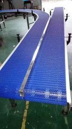 鸭屠宰分切加工线OPB垂直螺旋塑料网带