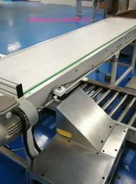 乳制品灌装机通用柔性塑料链板设备输送机
