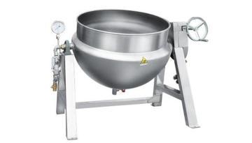 蒸汽夹层锅 熬煮锅 厨房设备 汤锅 不锈钢锅 锅具