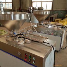 义康牌 鸡肉肠液压灌肠机  猪肉肠灌装机  台湾烤肠灌肠机