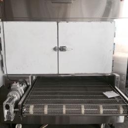 餅干烘焙爐不銹鋼食品網帶輸送線威化餅包裝機