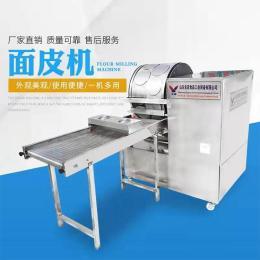 厂家直销名诺牌燃气加热自动控温多功能全自动春卷皮机器经济节能安全高效