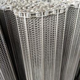 输送网带不锈钢链条式网带耐高温输送带