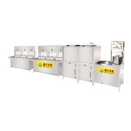 鑫丰大型全自动豆腐机产量高功耗低稳定可靠厂家直销