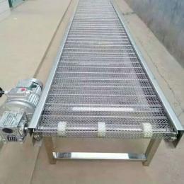 食品网带输送机蛋糕摊凉传送设备不锈钢网带输送机
