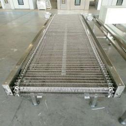 热处理网带输送带不锈钢链条式网带耐高温材质输送带